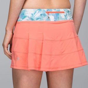 Lululemon Pace Rival Skirt Plum Peach